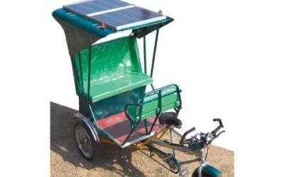 New Delhi sees eco-friendly rickshaws