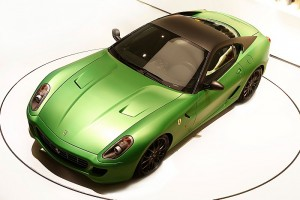 Ferrari experiments with going green