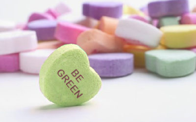 Have an eco-friendly Valentine's Day