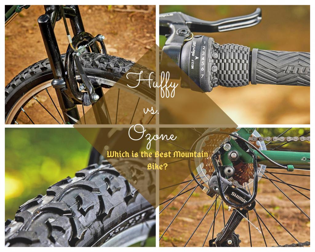 huffy vs ozone mountain bikes